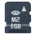 Wholesale M2 memory card 1GB 2GB 4G 8G full capacity MOQ 1pc Free shipping and Free adapter