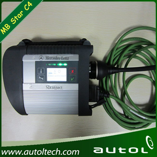 MB STAR C4 2012 Latest Compact 4 Star Diagnosis Tester New Version: 09/2012+External HDD for any PC(China (Mainland))