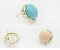 The European and American fashion stud earrings  woman earrings wholesale
