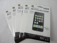 Free Shipping 100pcs/lot Clear Screen Protector For iPhone 4 4G With Retail Package