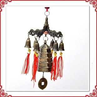 Feng Shui I-China bells  Bagua Fortune feng shui product wealth simon store