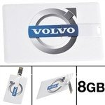 VOLVO Business Card Style 4GB/8GB/16GB/32GB  Memory USB 2.0 Flash Drive U Disk