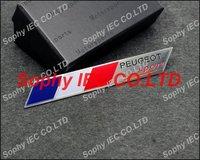 Free Shipping Peugeot Sport G054 Aluminum  Alloy Car Nameplate Badge Emblem Badges Emblems Sticker