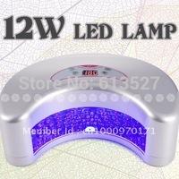 Free Shipping 12w nail art led uv lamp & led nail curring dryer