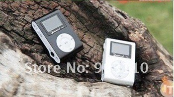 NEW Clip OLED mp3 player  with Micro SD(TF) card slot up to 2GB  free shipping!