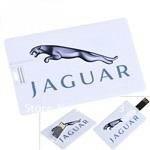 Credit Card Style USB 2.0 Flash Drive U Disk 4GB 8GB 16GB 32GB Memory - Pattern JAGUAR