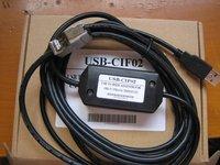 PLC024 # Free Shipping USB-CIF02 USB CIF02  For Omron PLC CPM1, CPM1A, CQM, CPM2A, C200HS, C200HX/HG/HE, SRM