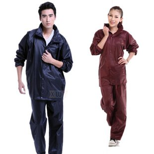 [Free Shipping] Motorcycle Electric Vehicles 2189 Fashionable Men And Women Split Double-Layer Rain Pants Raincoat