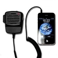 free shipping New Stylish Cool Transceiver/ Speaker for iPhone 3G 4G 4S Black