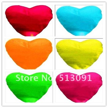 150pcs/lot Chinese Sky lantern fire Heart-shaped flying Lanterns Wedding/Birthday Wishing Paper heavenly Balloons free shipping