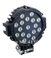 DC LED Utility Light _ 12 Volt, 3600Lumens, 51W ; Industrial led Driving Spotlight, off road light