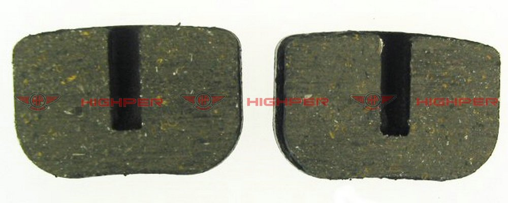 Disc Brake Pad Set for mini-gas scooters, mini electric scooters and pocket bikes+free shipping(China (Mainland))