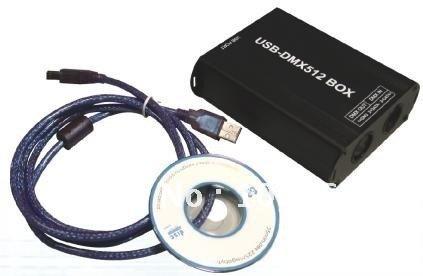 USB DMX RGB controller, can work with FreeStyler soft , LN-USB-DMX(China (Mainland))