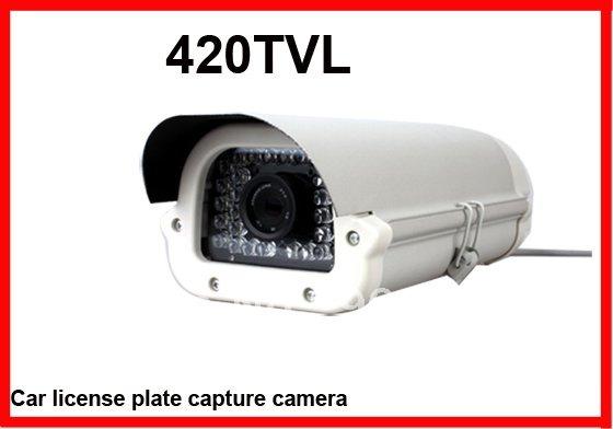 Carro de segurança CCTV placa de captura licents 1/3 CCD 420TVL 12 mm Lens night vision até 30 m(China (Mainland))
