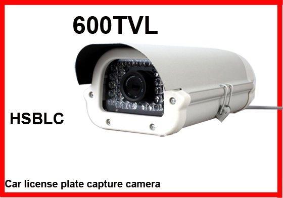 Carro de segurança CCTV placa de captura licents 1/3 CCD 600TVL 16 mm até 30 m de visão noturna lente OSD(China (Mainland))