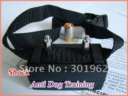 100pcs/pack FREE SHIPPING! Pet Bark Stopper ,Shock Control No Barking Collar(China (Mainland))