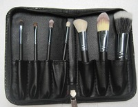 Best-selling !!! 7 piece brush set+leather Pouch Good quality