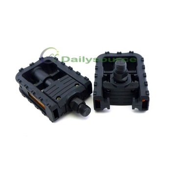 2pcs MTB Bicycle Pedal Mountain Bike Folding Platform Plastics Manufacture 9/16