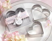 FREE SHIPPING+Wedding Favors Cut Out For Love Cookie Cutter+100sets/lot(RWF-0037P)