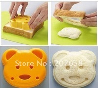 cheese DIY mould & bread toast cutter  sandwich cutter picnic lunch mold maker in bear design