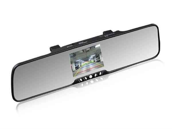 "3.5"" TFT Monitor+bluetooth car rearview mirror, backup car reverse camera, bluetooth fm transmitter(China (Mainland))"