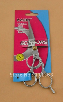 Free Shipping Hairdressing /haircut Scissors  stainless steel blade comfortable handle Scissors  Professional pet scissors