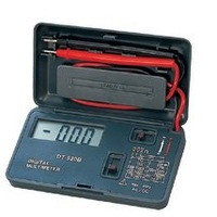 Pocket - size portable digital multimeters Voltmeter Ohmmeter Ammeter  CE Certification DT920B