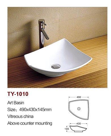 Vierkante aanrecht wastafel koop goedkope vierkante aanrecht wastafel loten van chinese - Mode badkamer ...
