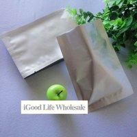 6*8cm Aluminum Foil Bag foil flat bag vacuum bag food bag  + free shopping