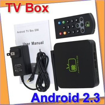 Free shipping! New Google Android 2.3 Internet TV Box WIFI 1080P Full HD HDTV Media Player