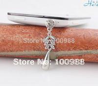 IP102 10pcs/Lot  cheap rhinestone alloy cell phone strap