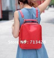 Рюкзак new arrive Temperament women Stone grain canvas stripe bag, fashion lace belt decorate sports casual backpack, c1233