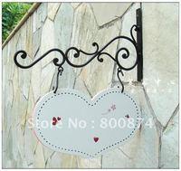 European style outdoor modern doors  Creative rustic Park hang tags