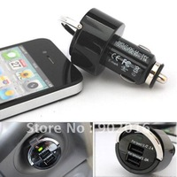 10pcs/lot free shipping 3.1A high output Universal dual usb car charger