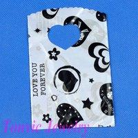 Free Shipping 300 Economic Plastic Retail Gift Shopping Bag 15X9cm XA0915-44