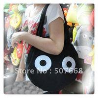 "20pcs/lot 13"" Totoro Plush Bag, Children School Bags,Stuffed Plush Toy Bags, Plush Handbag"