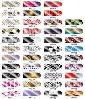 20packs/lot 159 design Original Rainbow Brilliance Shiny Self Adhesive Minx Styel Nail Sticker #801