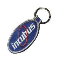 "117-2,wholesale keychain, 1.5"" wide,twill + 3cm metal ring, various colors,100pcs/ bag,accept customized, MOQ 100, free shipping"