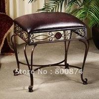 European Exchange Shoe stool Iron art fashion creative makeup  Chair Restaurant
