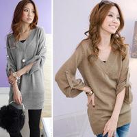 Женские пуховики, Куртки 2012 Fashion Winter Fashion Lamb Fleece Hat Cotton-Padded Long Design Cotton Overcoat For Women Drop Shipping AWS053