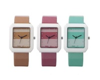 NEW women Fashion Colorful Quartz Crystal Watch--FX785