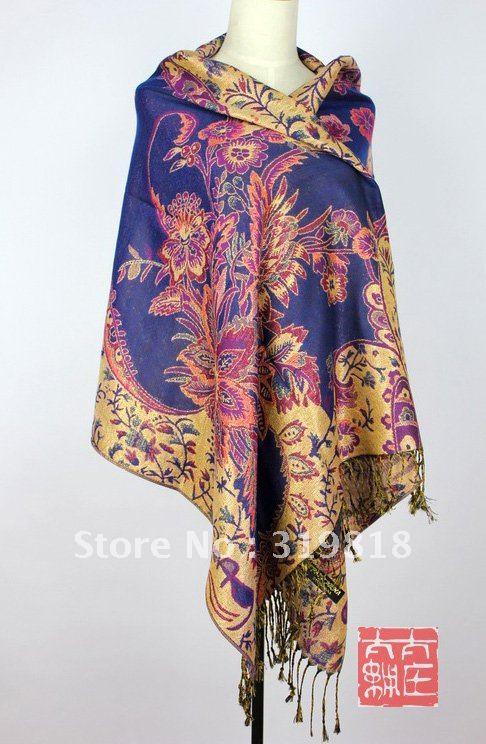 2012 new Fashions Womens Pashmina Acrylic scarf Pashmina Scarf Bulk Pashmina Scarf Bulk