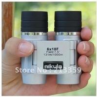 Free Shipping for Brand New Nikula 6X18F Zoom Binoculars Watching Performance