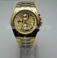 Retail sale1pc/lot China air post  dropshipping , metal alloy band and case , import movement ROSRA man wrist watch