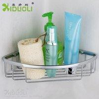 XIDUOLI top quality bathroom shelf wall mounted Brass  Bathroom storage Basket  XDL-1328