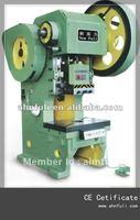 60 ton c-frame fixed table sheet metal punching machine (J21-10)