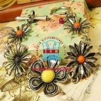 Кожаный браслет 2COLORS IN Fashion gold tone Infinity symbol women's party leather band bracelet DXYB0098, lot 12pcs