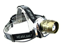 New CREE XM-L XML T6 LED Headlamp Headlight 1200Lm Zoomable Zoom +2x 18650 3000mAh Battery+Charger