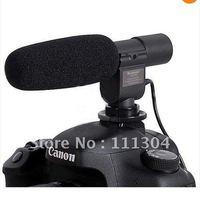 free shipping  SG-108 Shortgun Mic Video for Canon 5D Mark II 7D 60D T3i