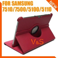 Samsung GALAXY Tab 2 10.1 360 Rotating Leather Case Cover Protector P7500 P7510